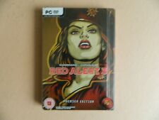 Command & Conquer Red Alert 3 Premier Edition Steelbook PC Game C&C Strategy RPG