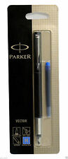 Parker Pen Parker Vector Black Medium Nib blue Ink Fountain Pen (Blister Pack)