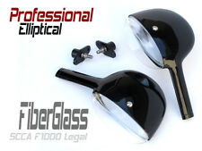 Auto Racing Mirrors - PRO ELLIPTICAL AERO EXTREME - Fiberglass - SCCA Legal