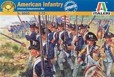 Italeri 1:72 American Revolution Infantry Plastic Model Set 6060 Ita6060