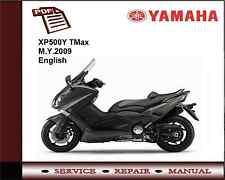 Yamaha XP500Y XP500 TMax M.Y.2009 Workshop Service Repair Manual