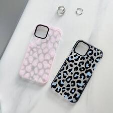 Cute Leopard Print TPU Soft Case For iPhone 6 7 8 11 12 Pro Max X XR Phone Cover