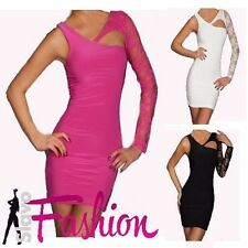 Women's No Pattern Long Sleeve Clubwear Stretch, Bodycon Dresses