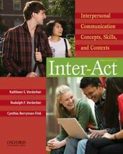 Inter-Act: Interpersonal Communication Concepts, Skills, and Contexts, Berryman-