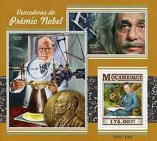 Mozambique 2015 MNH Nobel Prize Winners 1v S/S Physics Heisenberg Einstein