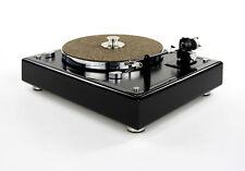 Restaurierter & modifizierter Thorens TD 145 MKII Plattenspieler in piano black