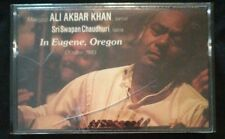 Ali Akbar Khan Live in Eugene Oregon 1983 Audio Cassette Tape RARE New & Sealed