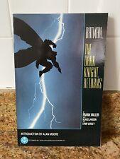 Batman The Dark Knight Returns Complete DC TPB RARE 1986 Edition Frank Miller
