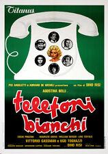 Dvd TELEFONI BIANCHI - (1976) *** Vittorio Gassman, Ugo Tognazzi *** NUOVO