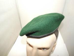 GERMAN ARMY UTA MULLER    GREEN BERET SIZE 57
