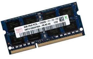 8GB HYNIX DDR3L SO-DIMM 1600 Mhz PC3L-12800S Notebook RAM HMT41GS6AFR8A-PB
