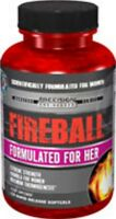 FIREBALL - Formulated For Her - Energy/Endurance/Preworkout 90 Rapid Rel Capsule