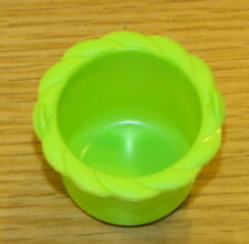 Hi Ho Cherry-O Board Game Piece: Green Cherry Basket/Cup Plastic CherryO Parts