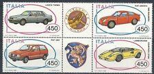 1985 ITALIA AUTO BLOCCO MNH ** - ED2