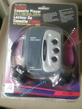 Alaron Stereo Cassette Player  Headphones with 3 band rotary Equalizer RY 259