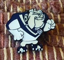 Canterbury Bankstown Bulldog Rugby League mascot pin badge