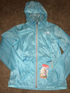 The North Face Blue Cyclone Hoodie Size Small  Jacket Windbreaker light packable