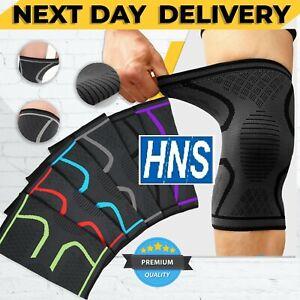 NHS Knee Support Brace Compression Sleeve Arthritis Patella Running Sport Gym UK
