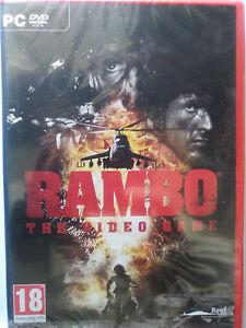 RAMBO THE VIDEO GAME / EL VIDEOJUEGO. PARA PC, NUEVO, PRECINTADO.