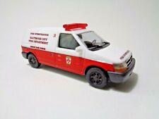 Busch 44655 Dodge Ram Van Baltimore BCFD, H0, Neu + OVP