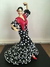 Barcino Spain Figure - Spanish Flamenco Dancer - H28cm
