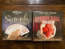 Theatre Magic: Sponge Ball and The Svengali Deck Instructional Dvd New Sealed