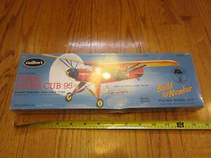 "Guillows 602 Piper Super Cub 95 20"" Wing WOOD FLYING MODEL KIT NEW Sealed BNIB"