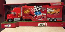 Disney Pixar Cars THE WORLD OF CARS Race O Rama MACK CARRY CASE - Toys 'R' Us
