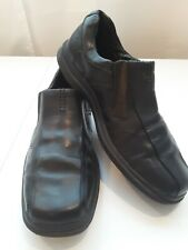 Bostonian Mens Black Slip on Dress Shoes