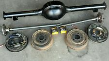 "Ford mustang 65-66  9 inch 9"" drum brake diff housing  axles and brakes"