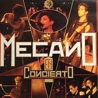 Mecano En Concierto lp 1st Mexican Press 1985 ex Latin Electronic Synth-pop