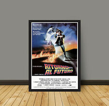 Movie Poster Back to the Future - Ritorno Al Futuro 35X50 CM Michael J Fox