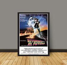 Movie Poster Back to the Future - Ritorno Al Futuro 35X50 CM Michael J Fox