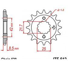 Pignon acier 17 dents jt chaîne 520 kawasaki er-5 Jt sprockets JTF512.17