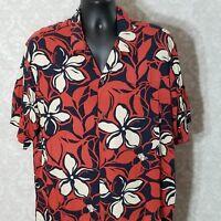 Kad Creations Vintage XL Hawaiian Camp Shirt Pumehana Floral Multicolor Aloha