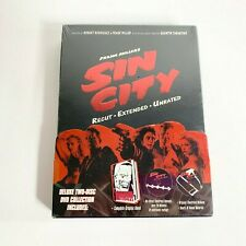 Sin City Recut Extended Unrated Dvd 2 Discs (New Sealed)
