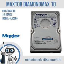 Hard Disk Maxtor DiamondMax 10 300GB ATA IDE HDD Model: 6L300R0 Code: BAH41G10