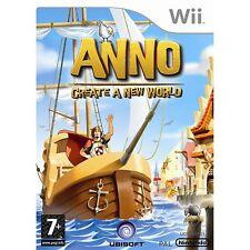 Nintendo Wii Spiel ANNO: Erschaffe eine neue Welt