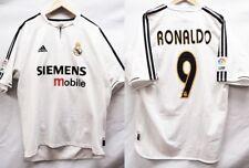 Real Mardrid 2003-2004 Home Ronaldo #9 Soccer Football Shirt Jersey