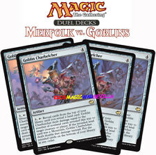 MTG 4 X GOBLIN CHARBELCHER - Lanzaesquirlas trasgo - DD: Merfolk-Goblins ENGLISH