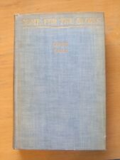 Book , Some For The Glory , Louis Zara Bobbs-Merrill 1937 First Printing Edition