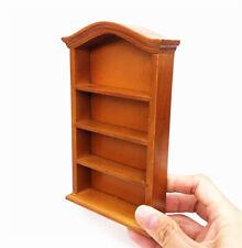 1//12 Dollhouse Miniature Furniture Multifunction Wood Cabinet Bookcase White ED