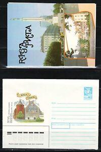 "Latvia - 1989 ""Riga"" Postal Stationary (Cover + Card)"
