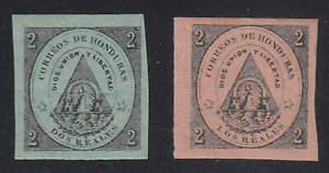 Honduras - 1865 - SC 1-2 - MH
