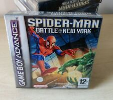 SPIDER-MAN BATTLE FOR NEW-YORK NINTENDO GAMEBOY ADVANCE NUOVO PAL ITALIANO GBA