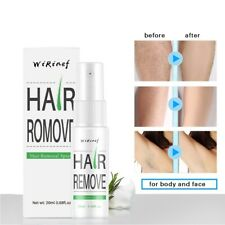 Natural Hair Removal Spray for Women Men Painless Permanent Depilatory 20ml