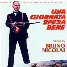 Bruno Nicolai: Una Giornata Spesa Bene (New/Sealed CD)