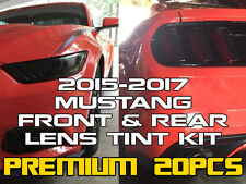2015/2016/2017 Mustang [FR+] Tint Kit -Front&Rear Complete-w/ Mirror Marker Tint