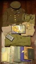 8TH AIR FORCE PILOT GROUPING - 381ST BOMB GROUP - UNIFORM, MEDAL, SQUADRON PATCH