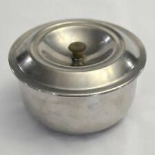 VTG D-Line Dietary Product Stainless Steel Dish Bowl Lid Covered Insulated USA